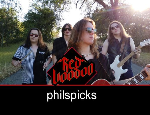 Phil's Picks | Red Voodoo Debuts 'Rise Up!' Video
