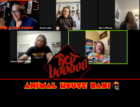 Animal House Radio | Guests Red Voodoo and Frank Hannon